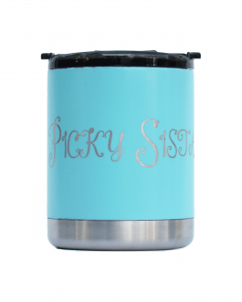 """Picky Sista"" Soiree Ceramic Coated Tumbler 10oz"