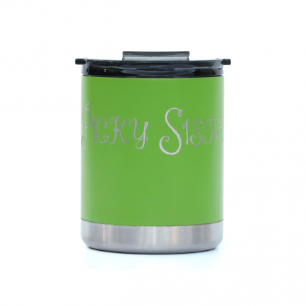 Picky Sista Soiree 10oz Ceramic Coated Tumbler - Green