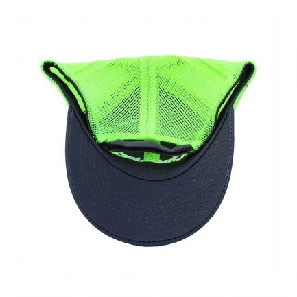 Picky Mista Men's Cap - Navy & Neon Yellow - Bottom View