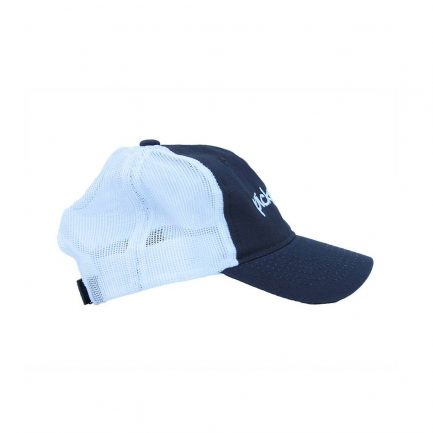 Picky Mista Men's Cap - Navy & White - Side View