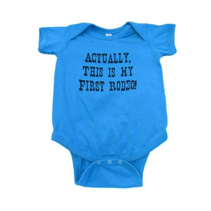 My First Rodeo Infant/Toddler Onesie - Blue