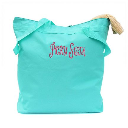 Picky Sista Tote Bag - Turquoise