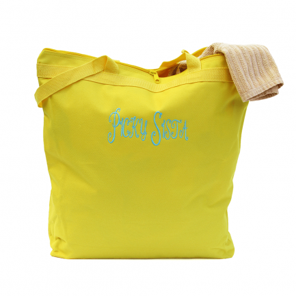 Picky Sista Tote Bag - Bright Yellow