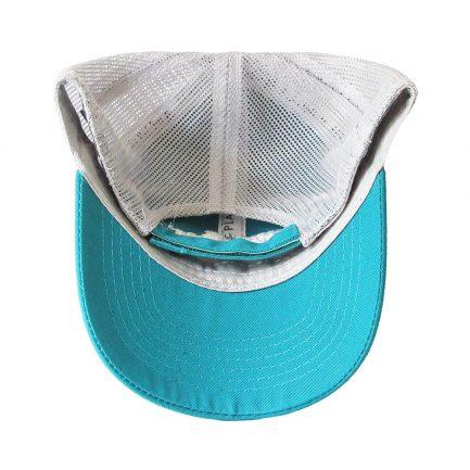 Picky Sista Mesh Back Cap - Blue & White - Bottom