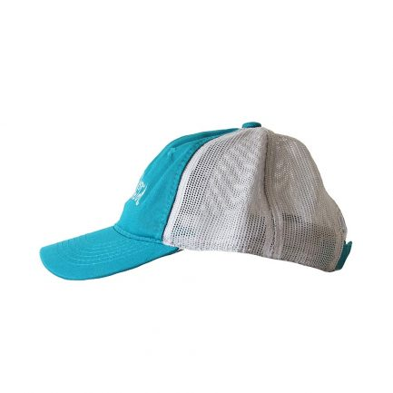 Picky Sista Mesh Back Cap - Blue & White - Side