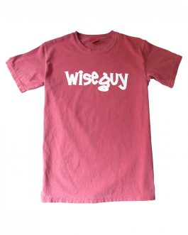 "Men's ""Wise Guy"" Garment Dyed T-Shirt Short Sleeve"