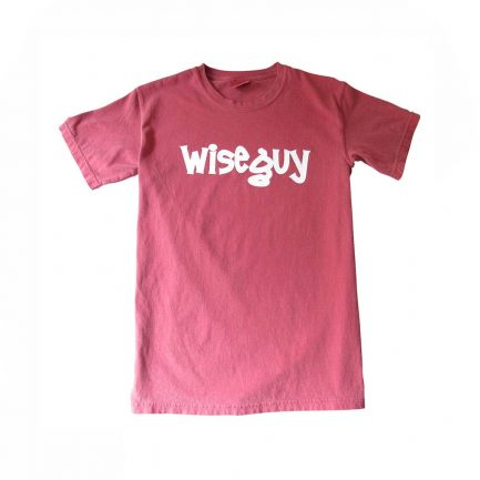 Wise Guy Men's Garment Dyed T-Shirt - Crimson