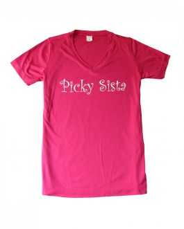 "Women's ""Picky Sista"" Performance V-Neck Short Sleeve"